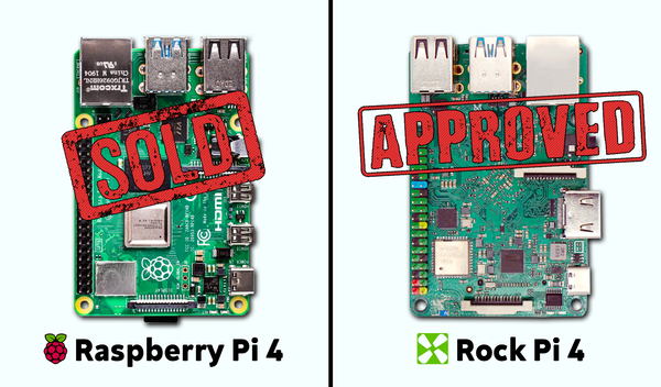 Why I sold my Raspberry Pi 4 for a Rock Pi 4